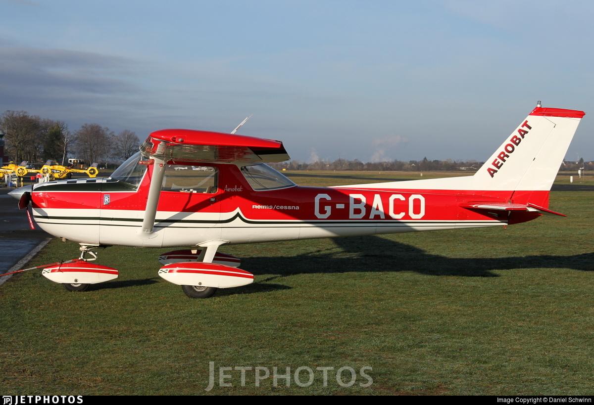 G-BACO - Reims-Cessna FRA150L Aerobat - Private