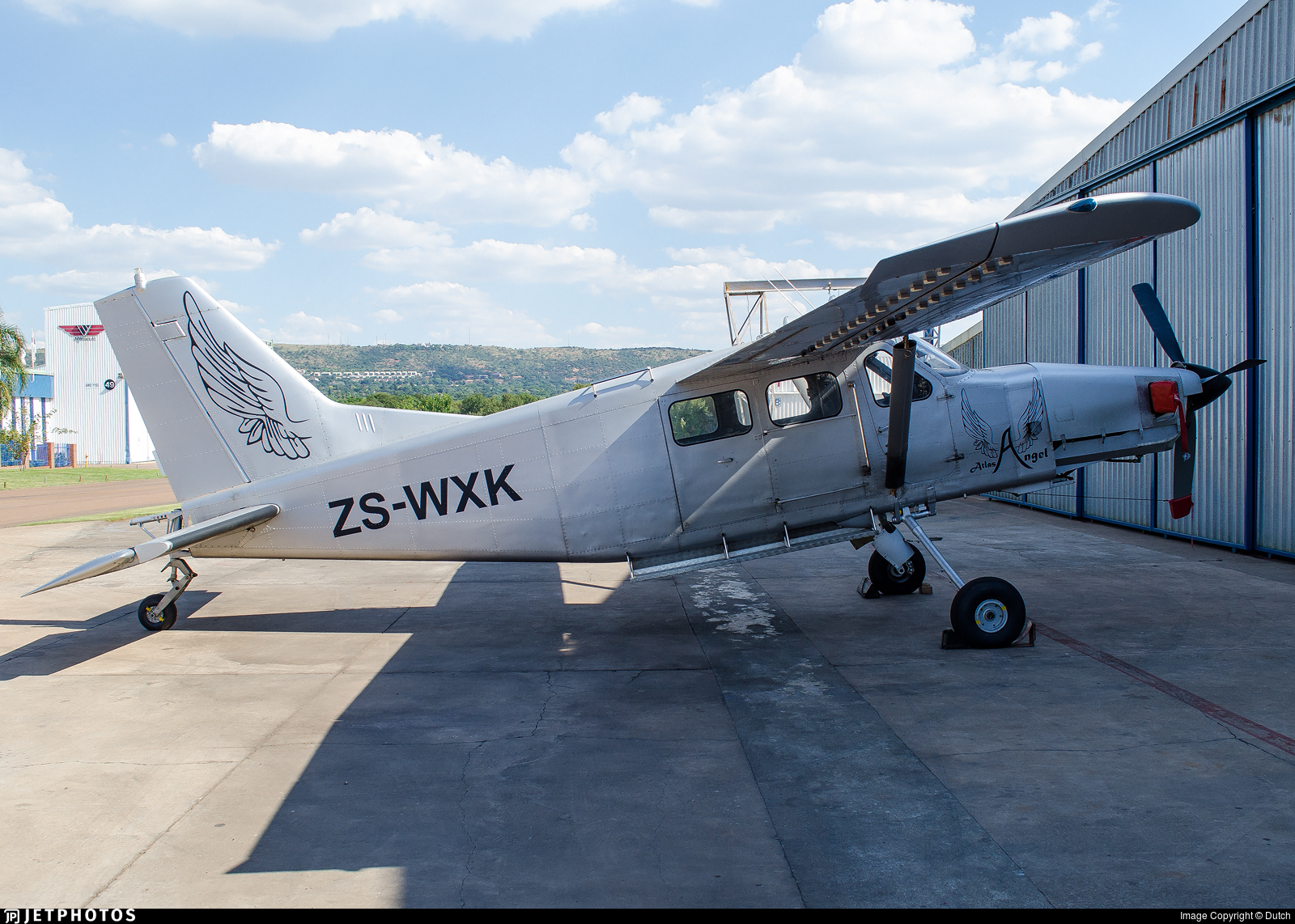 ZS-WXK - Atlas AL-60C-4M Kudu - Private