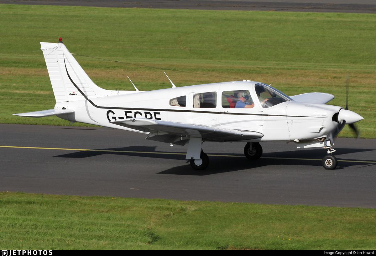 G-EGPF - Piper PA-28R-201 Cherokee Arrow III - Private