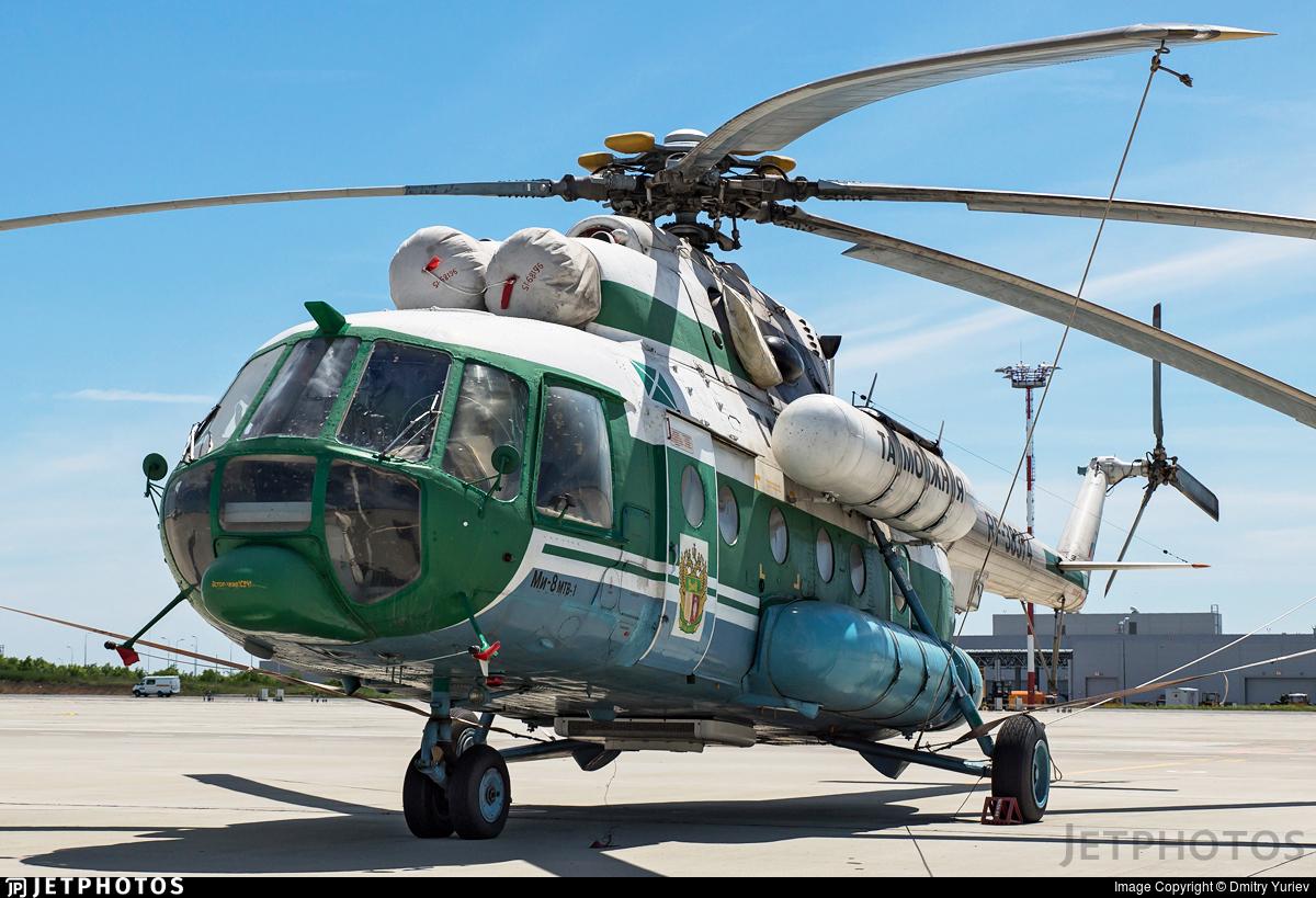 RF-38374 - Mil Mi-8MTV-1 Hip - Russia - Customs