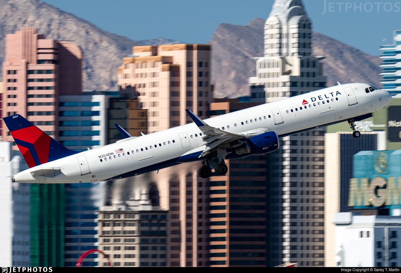 N354DN - Airbus A321-211 - Delta Air Lines