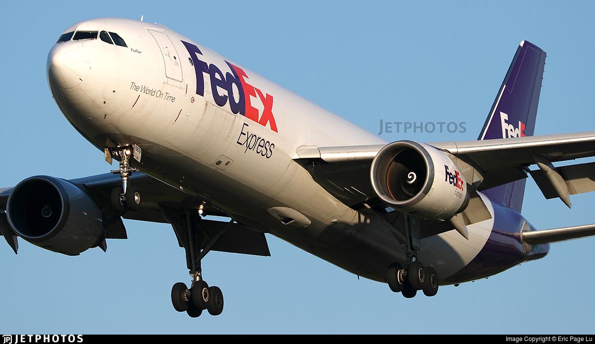 N669FE - Airbus A300F4-605R - FedEx