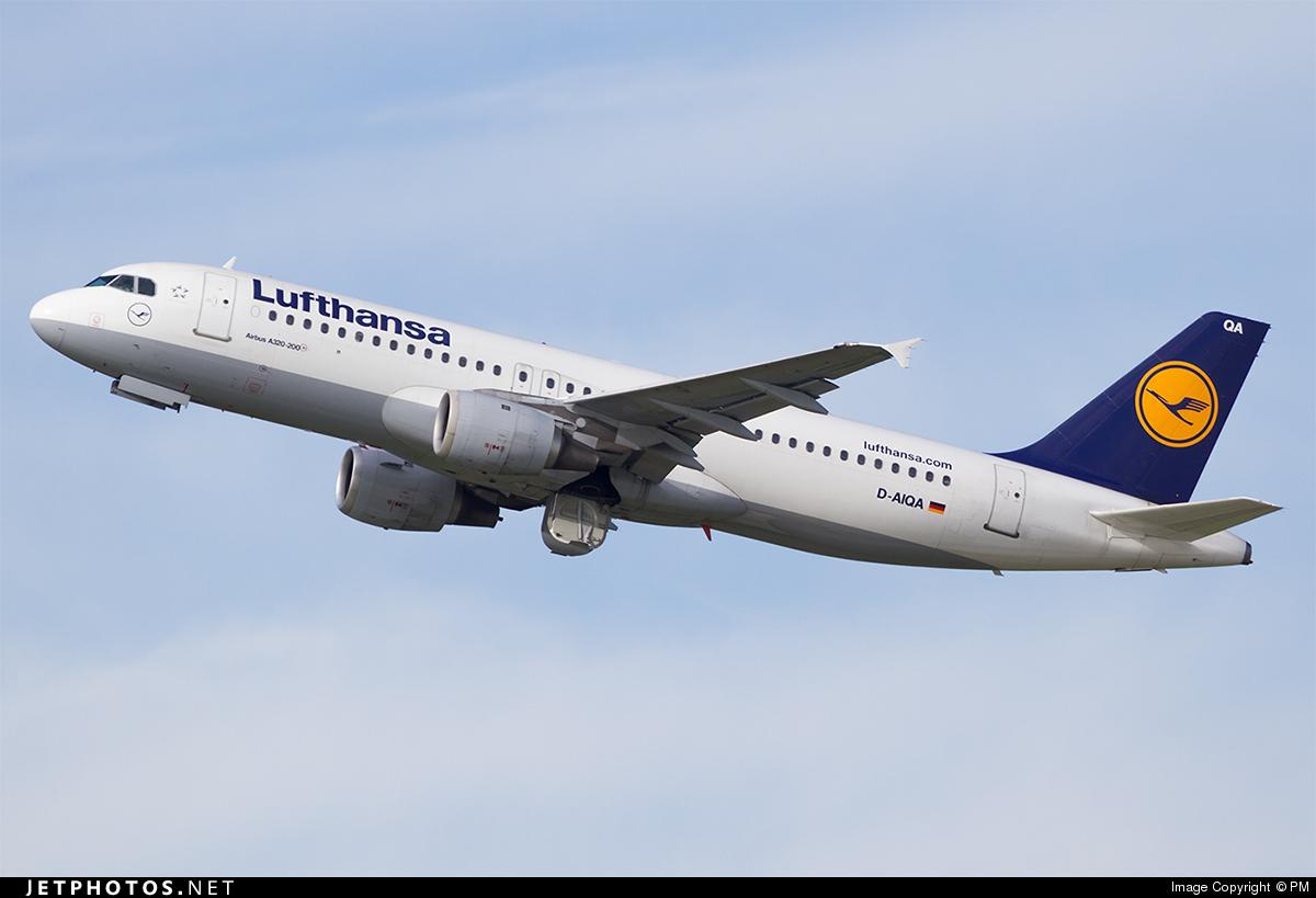 D-AIQA - Airbus A320-211 - Lufthansa