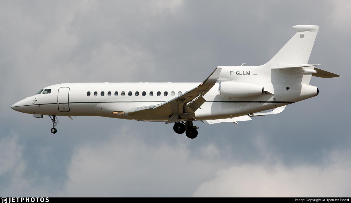 F-GLLM - Dassault Falcon 8X - Dassault Falcon Service