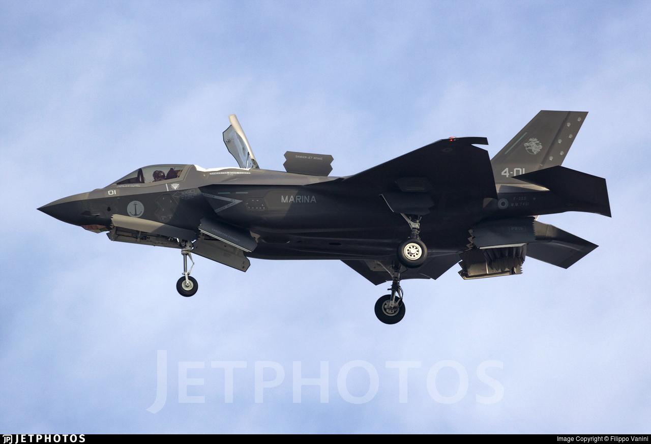 MM7451 - Lockheed Martin F-35B Lightning II - Italy - Navy