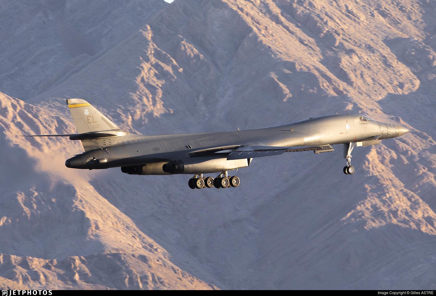 86-0121 - Rockwell B-1B Lancer - United States - US Air Force (USAF)