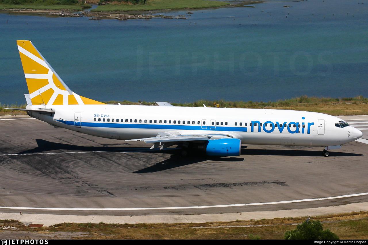 SE-DVU - Boeing 737-85F - Novair