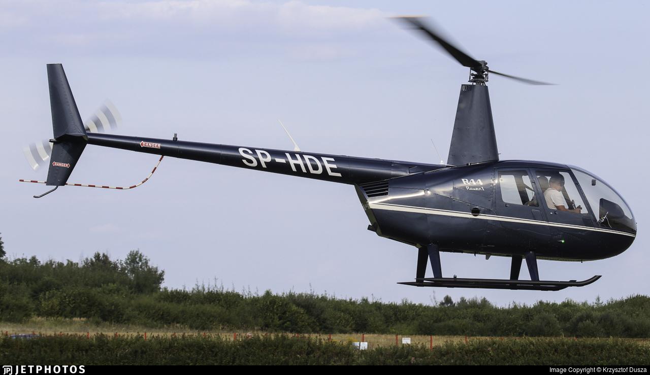SP-HDE - Robinson R44 Raven - Private
