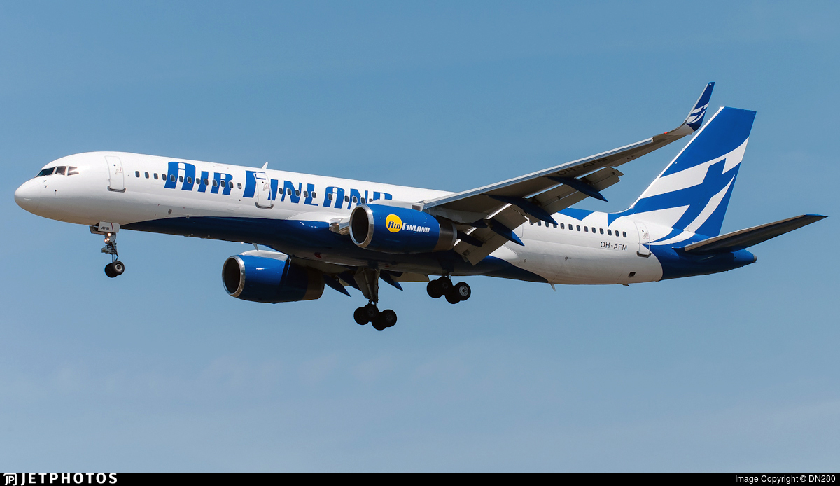 OH-AFM - Boeing 757-204 - Air Finland