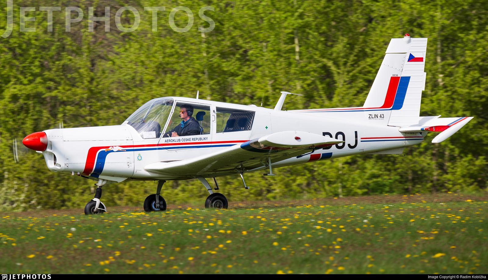 OK-DOJ - Zlin 43 - Aero Club - Czech Republic