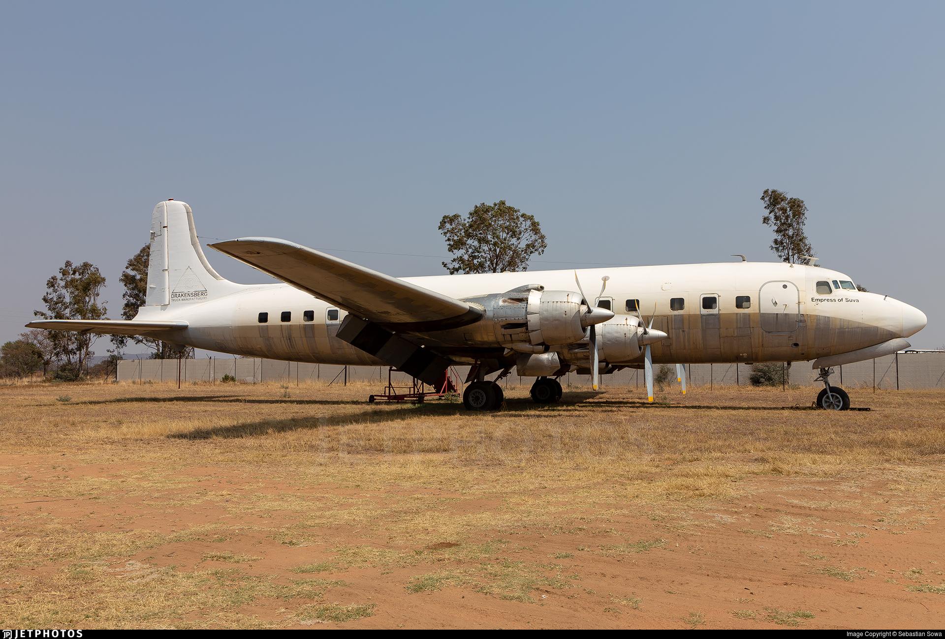 ZS-MUL - Douglas DC-6B - Private