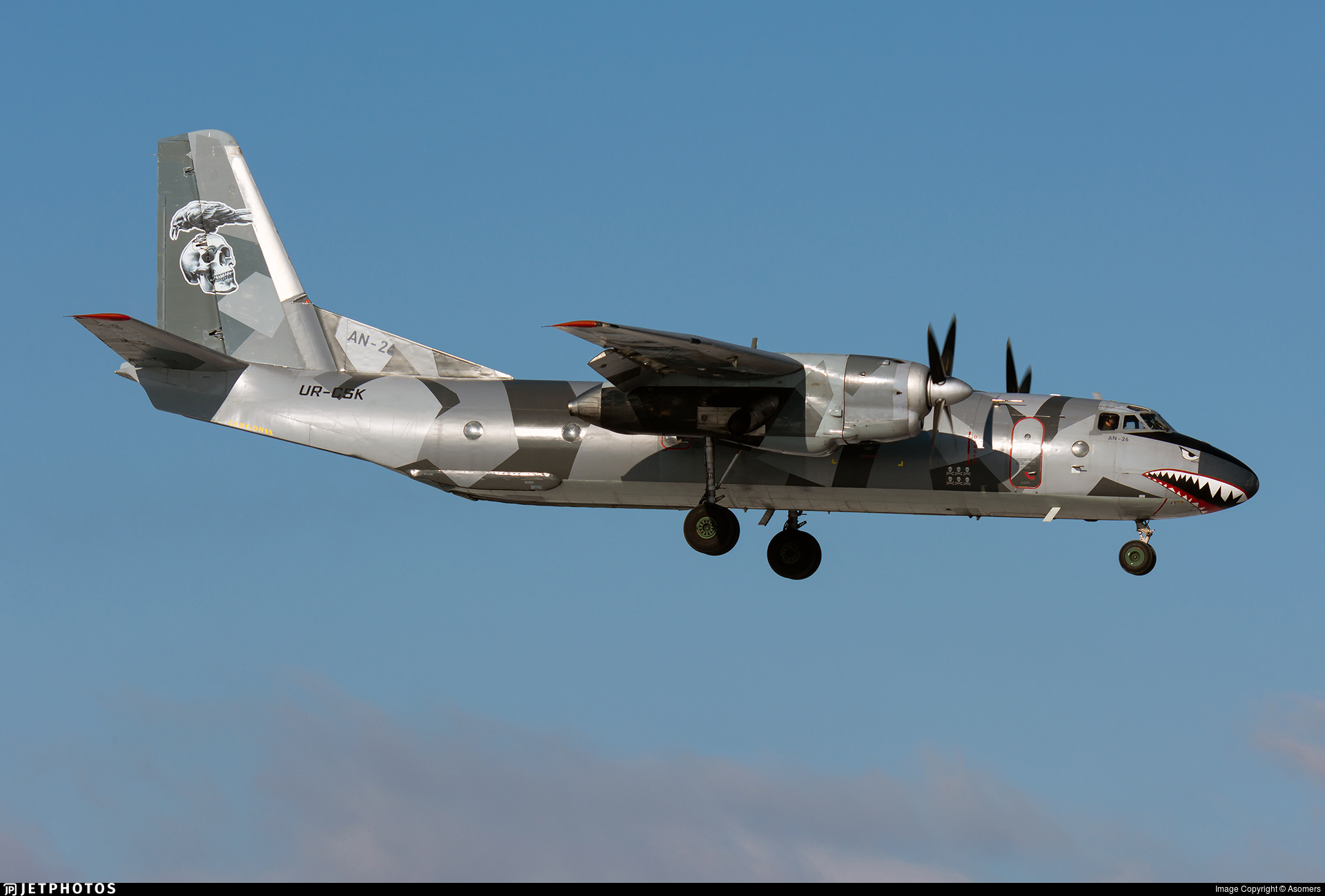 UR-CSK - Antonov An-26B - Eleron