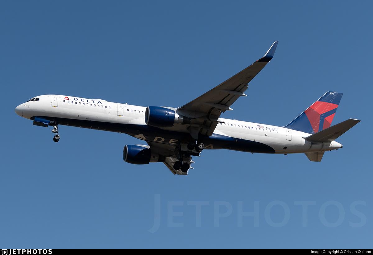 N6708D - Boeing 757-232 - Delta Air Lines