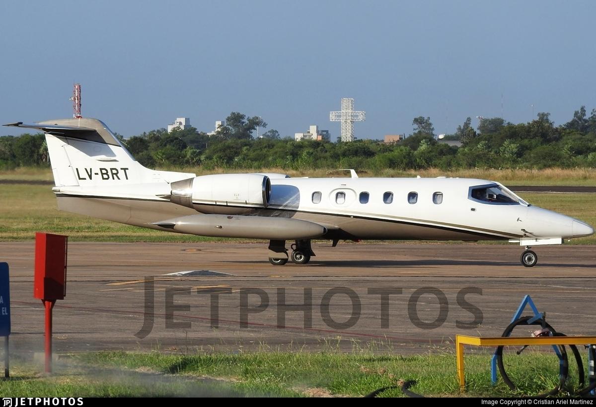 LV-BRT - Gates Learjet 35A - Private