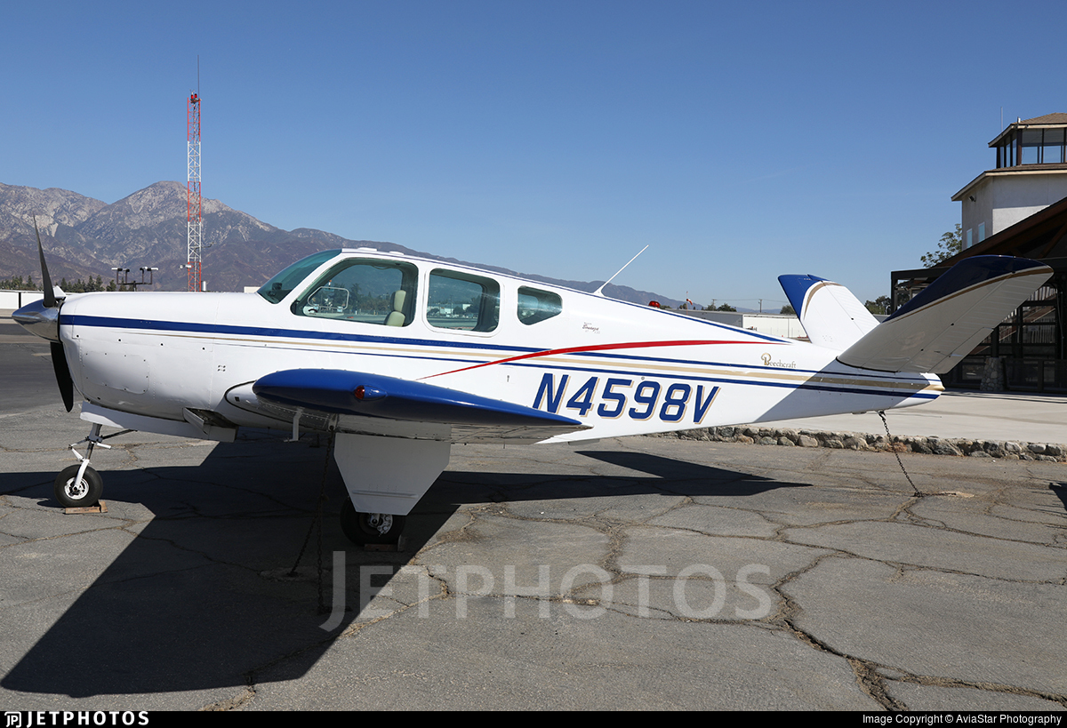 N4598V - Beechcraft 35 Bonanza - Private