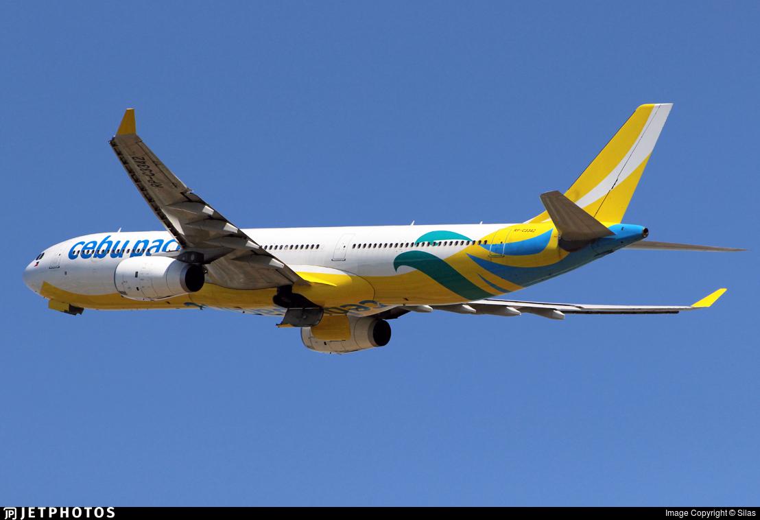 RP-C3342 - Airbus A330-343 - Cebu Pacific Air
