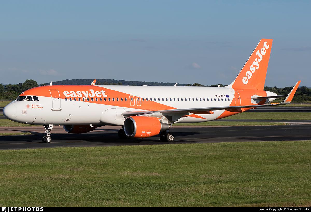 G-EZRG - Airbus A320-214 - easyJet