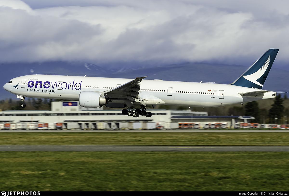 B-KQL - Boeing 777-367ER - Cathay Pacific Airways