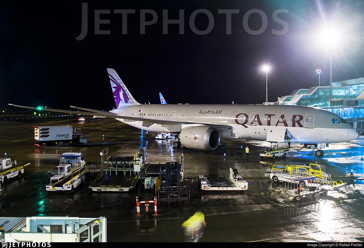 A7-BCC - Boeing 787-8 Dreamliner - Qatar Airways