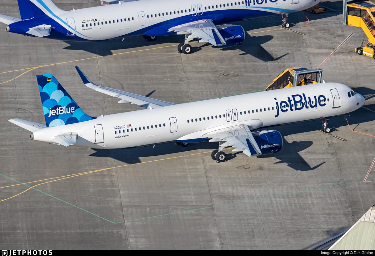 N2060J - Airbus A321-271NX - jetBlue Airways