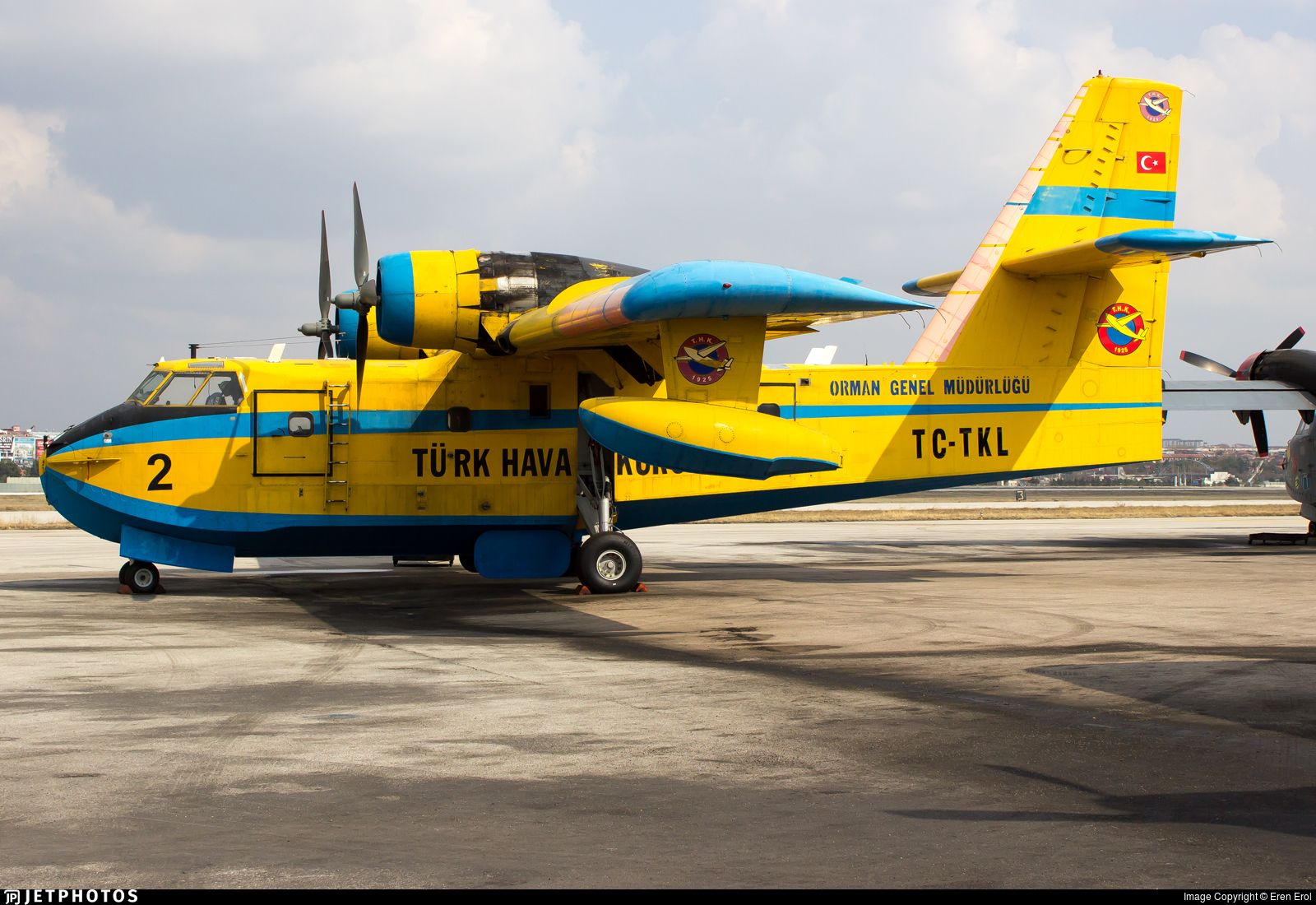 TC-TKL - Canadair CL-215 - Turkey - Turkish Aeronautical Association