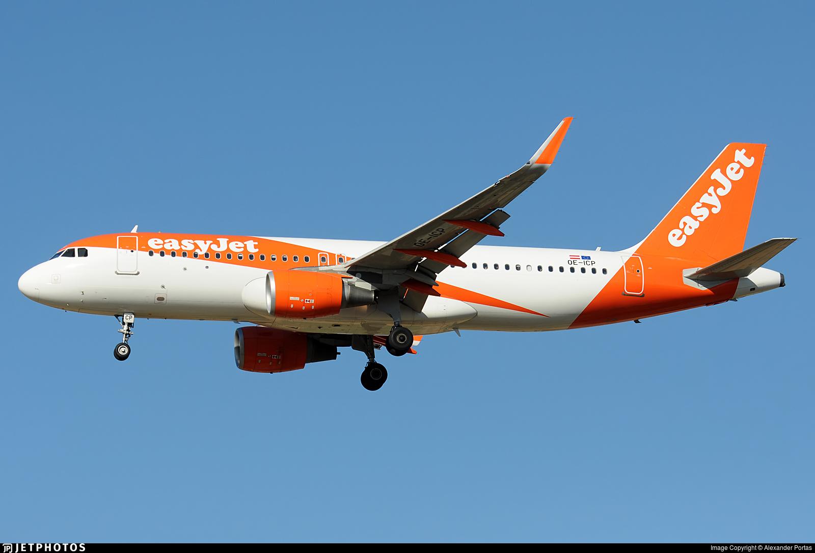 OE-ICP - Airbus A320-214 - easyJet Europe