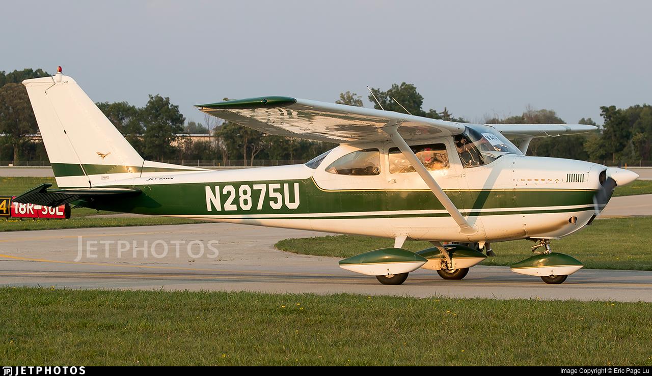 N2875U - Cessna 172D Skyhawk - Private