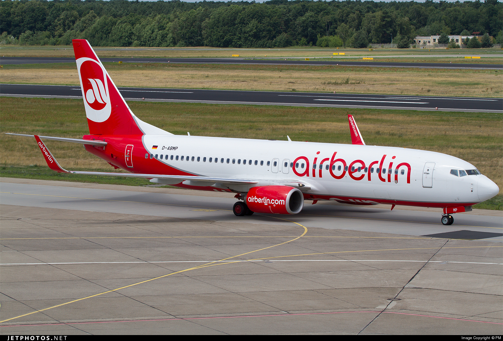 D-ABMP - Boeing 737-86J - Air Berlin