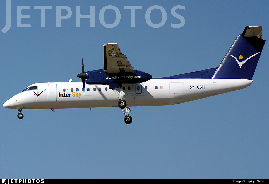 5Y-CGH - Bombardier Dash 8-Q314 - InterSky
