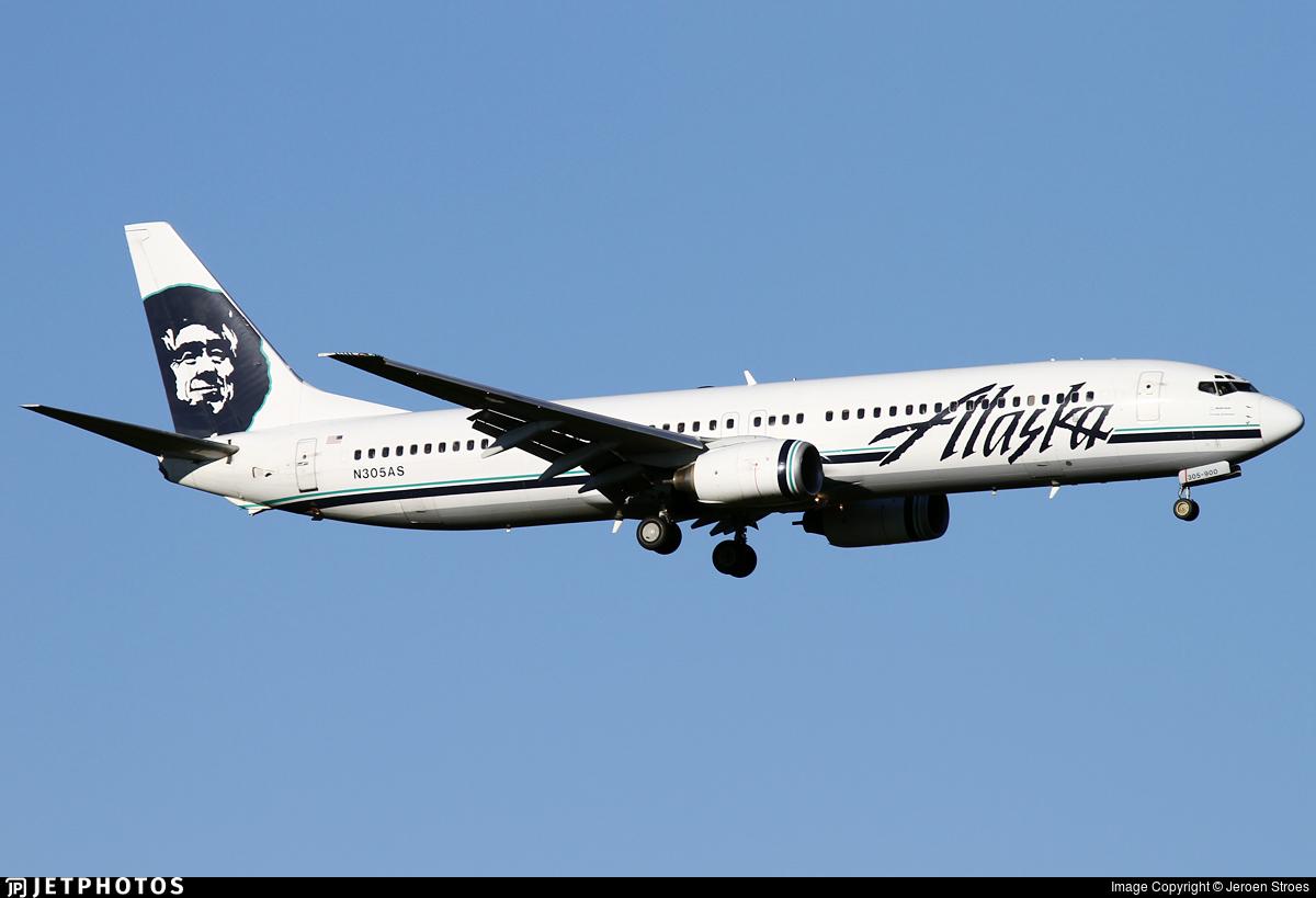 N305AS - Boeing 737-990 - Alaska Airlines