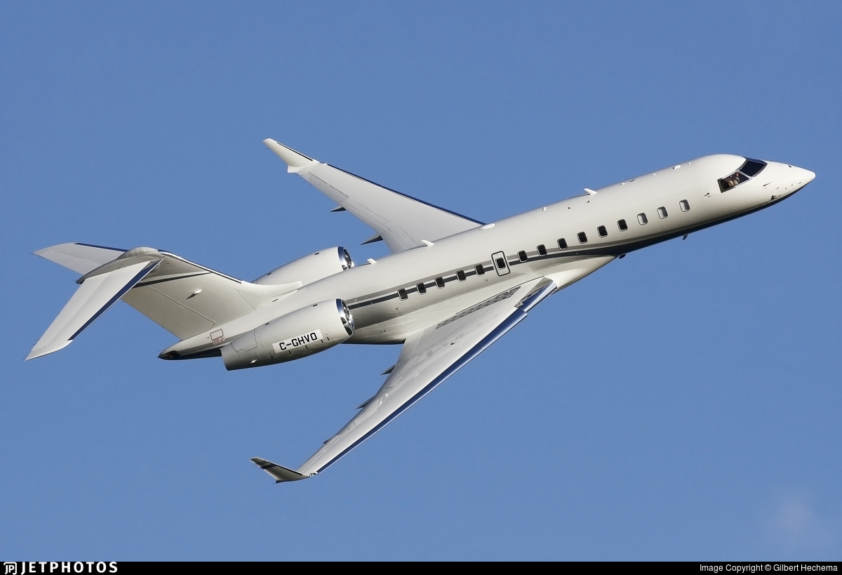 C-GHVO - Bombardier BD-700-1A10 Global 6000 - Private