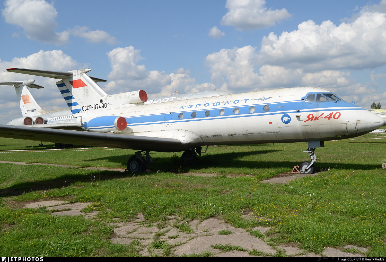 CCCP-87490 - Yakovlev Yak-40 - Aeroflot
