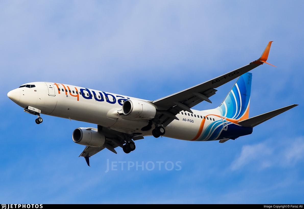 A6-FGG - Boeing 737-8KN - flydubai