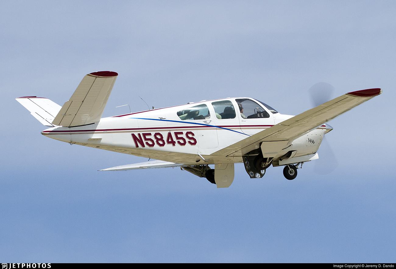 N5845S - Beechcraft S35 Bonanza - Private