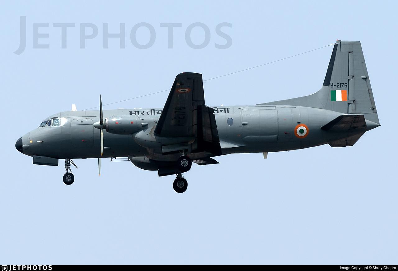 H-2176 - Hindustan Aeronautics HAL-748 M - India - Air Force
