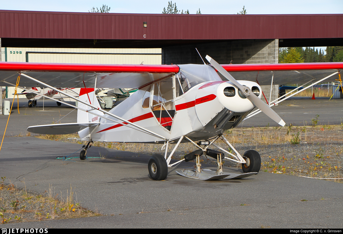 N35589 - Piper J-5A Cub Cruiser - Private