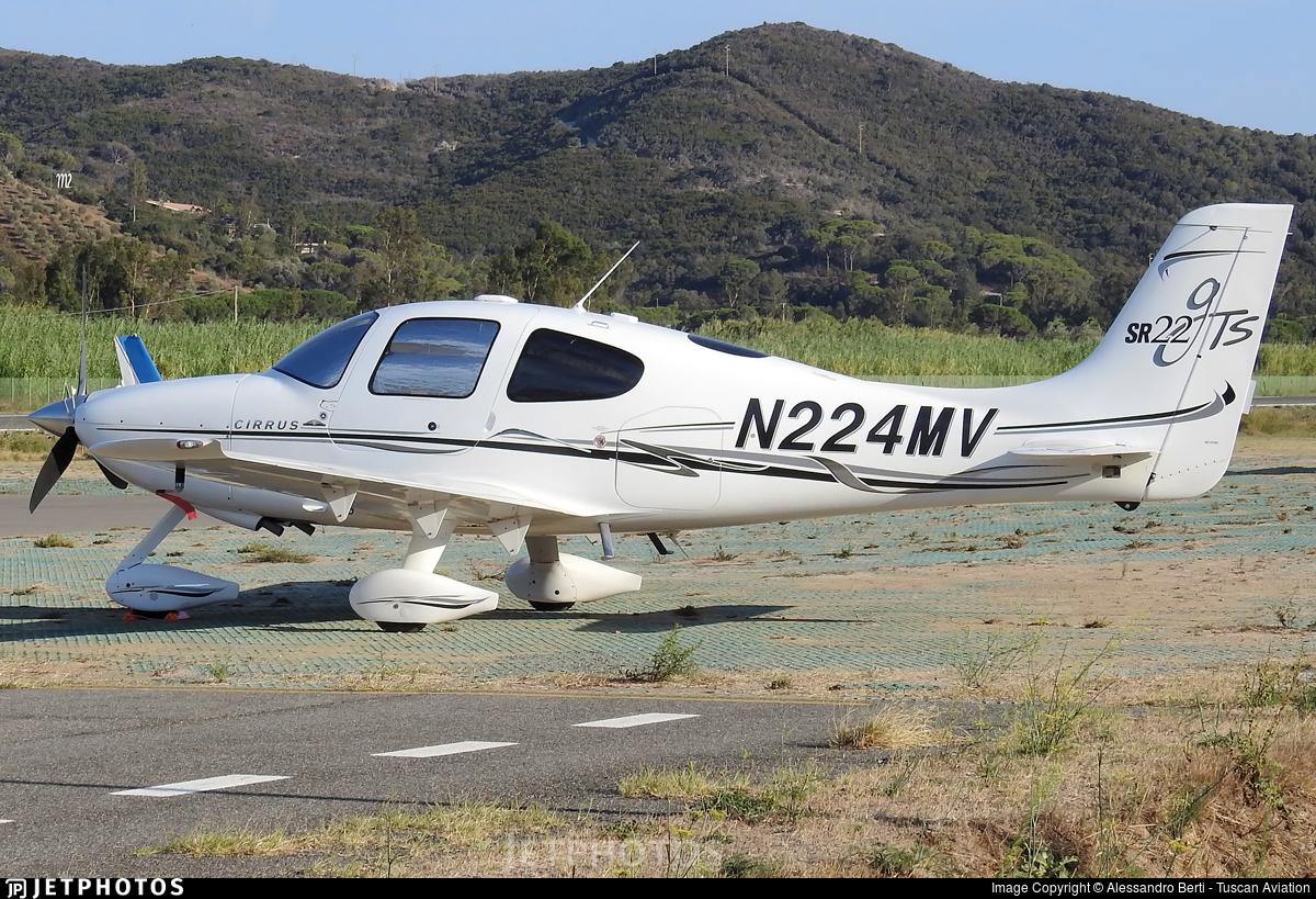 N224MV - Cirrus SR22-GTS - Private