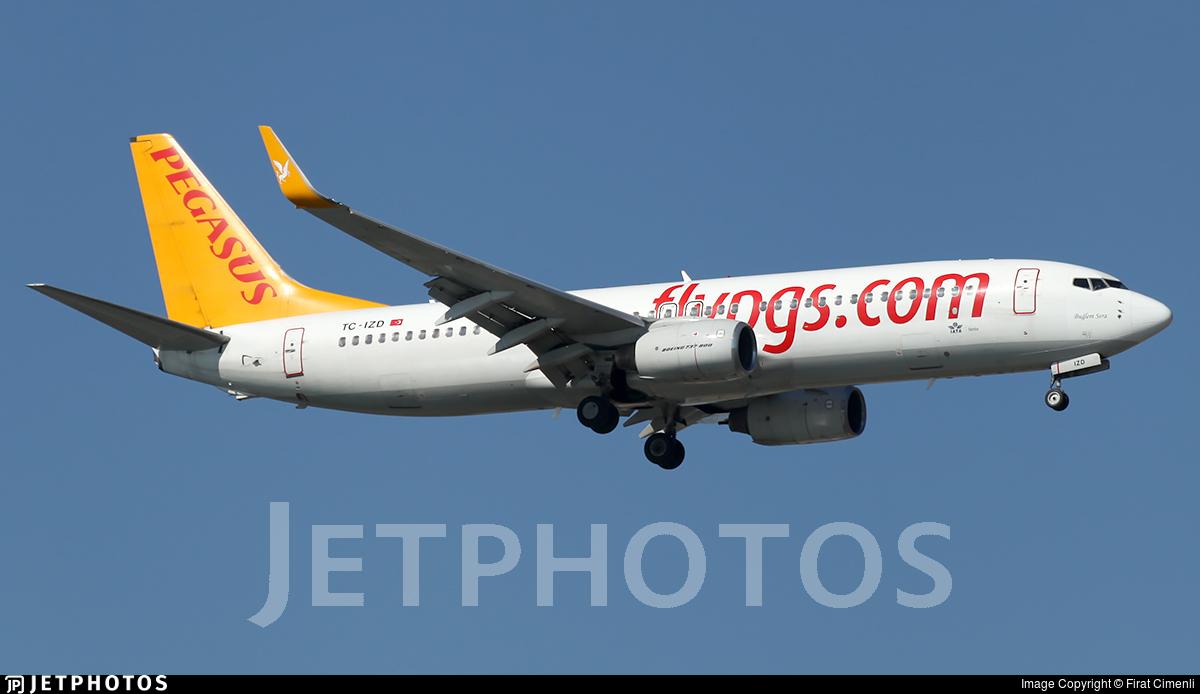 TC-IZD - Boeing 737-83N - Pegasus Airlines