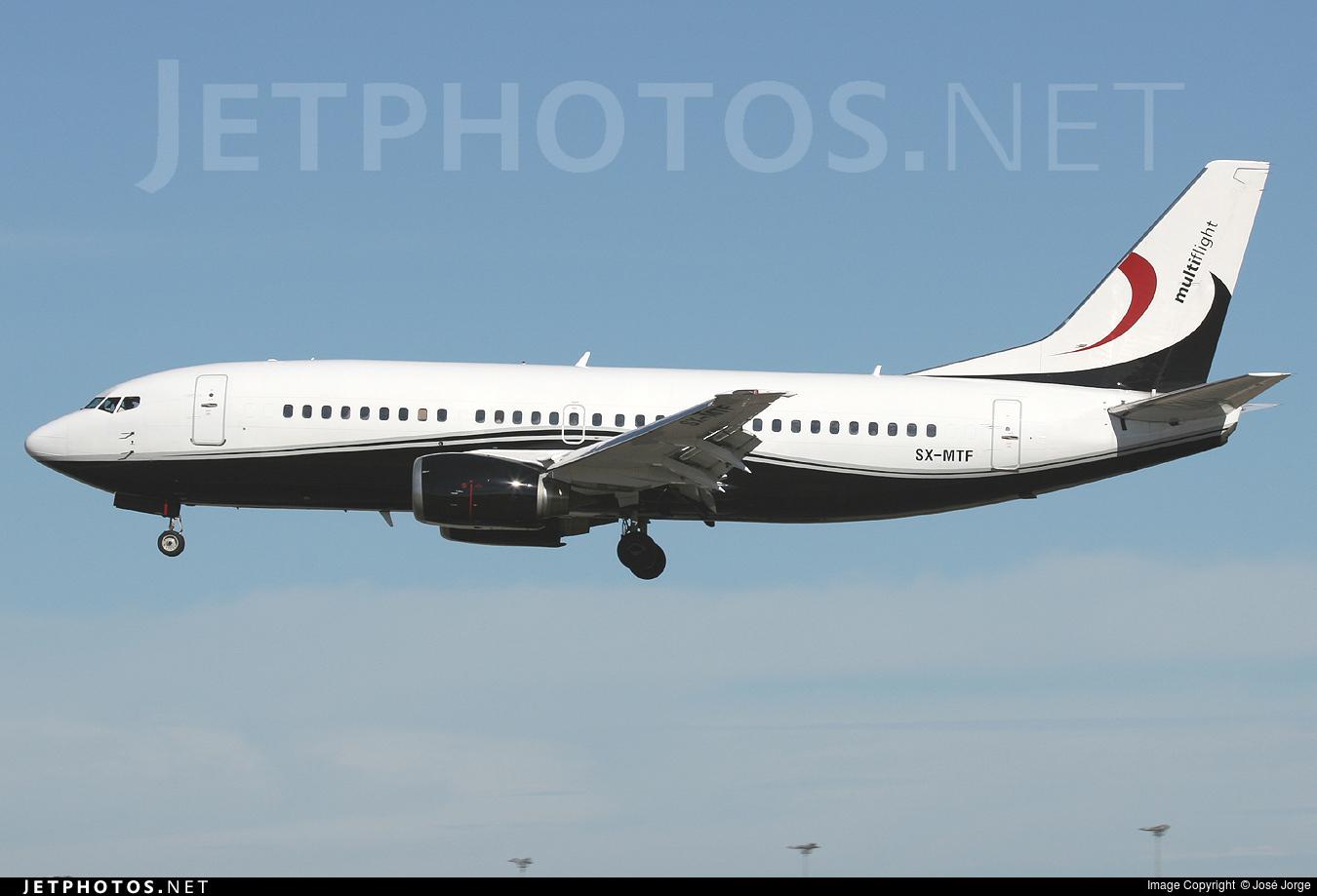 SX-MTF - Boeing 737-329 - GainJet Aviation