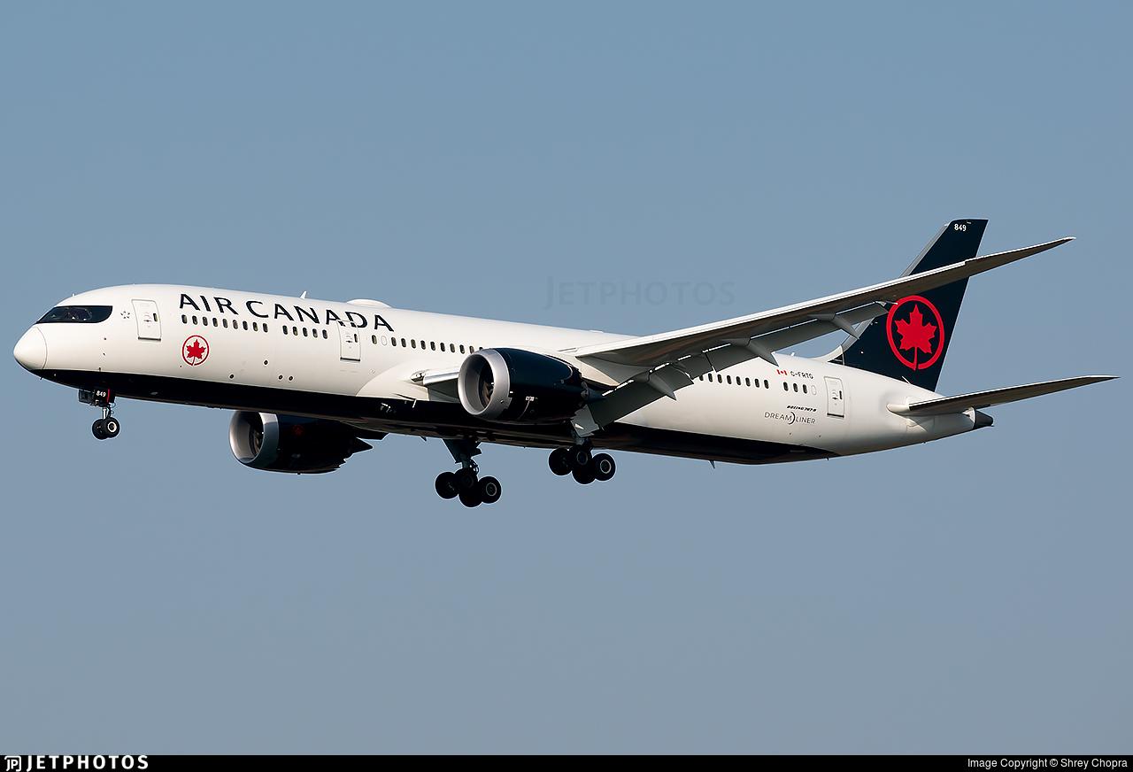 C-FRTG - Boeing 787-9 Dreamliner - Air Canada