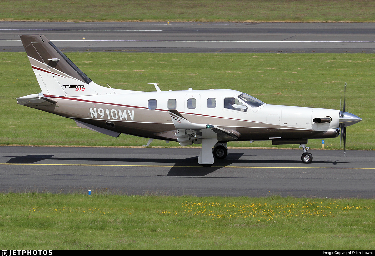 N910MV - Socata TBM-910 - Private