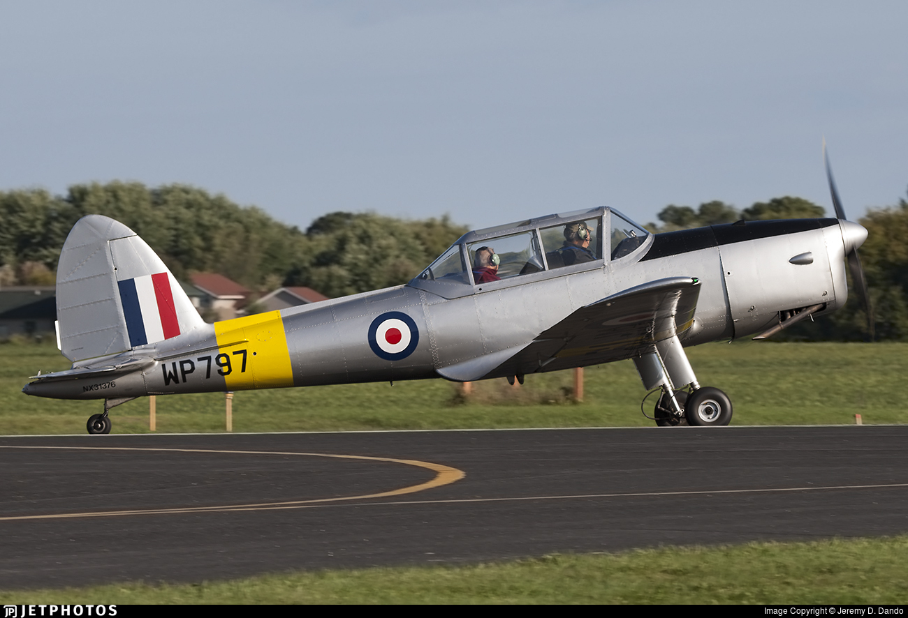 N31376 - De Havilland Canada DHC-1 Chipmunk - Private