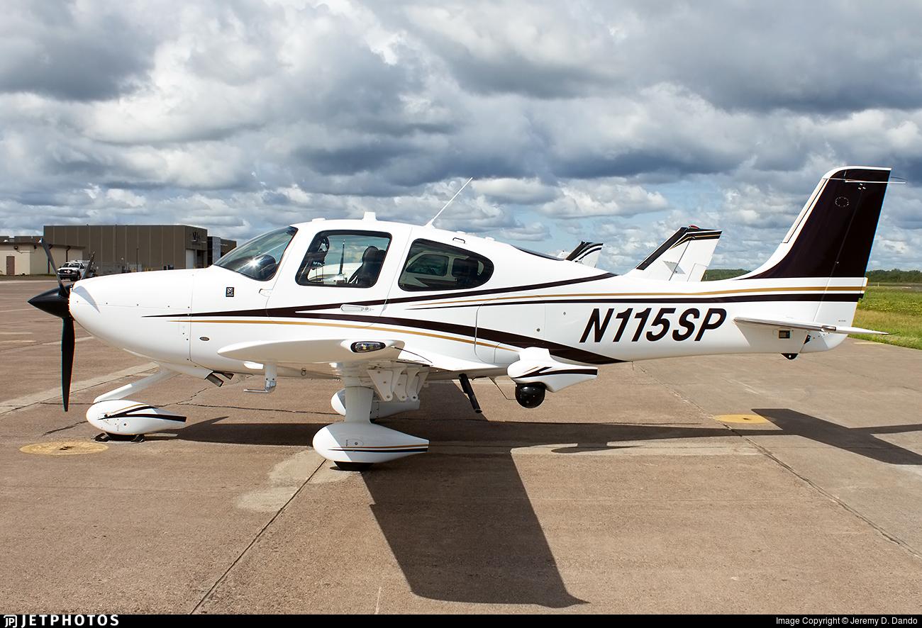 N115SP - Cirrus SR22 - United States - Minnesota State Patrol