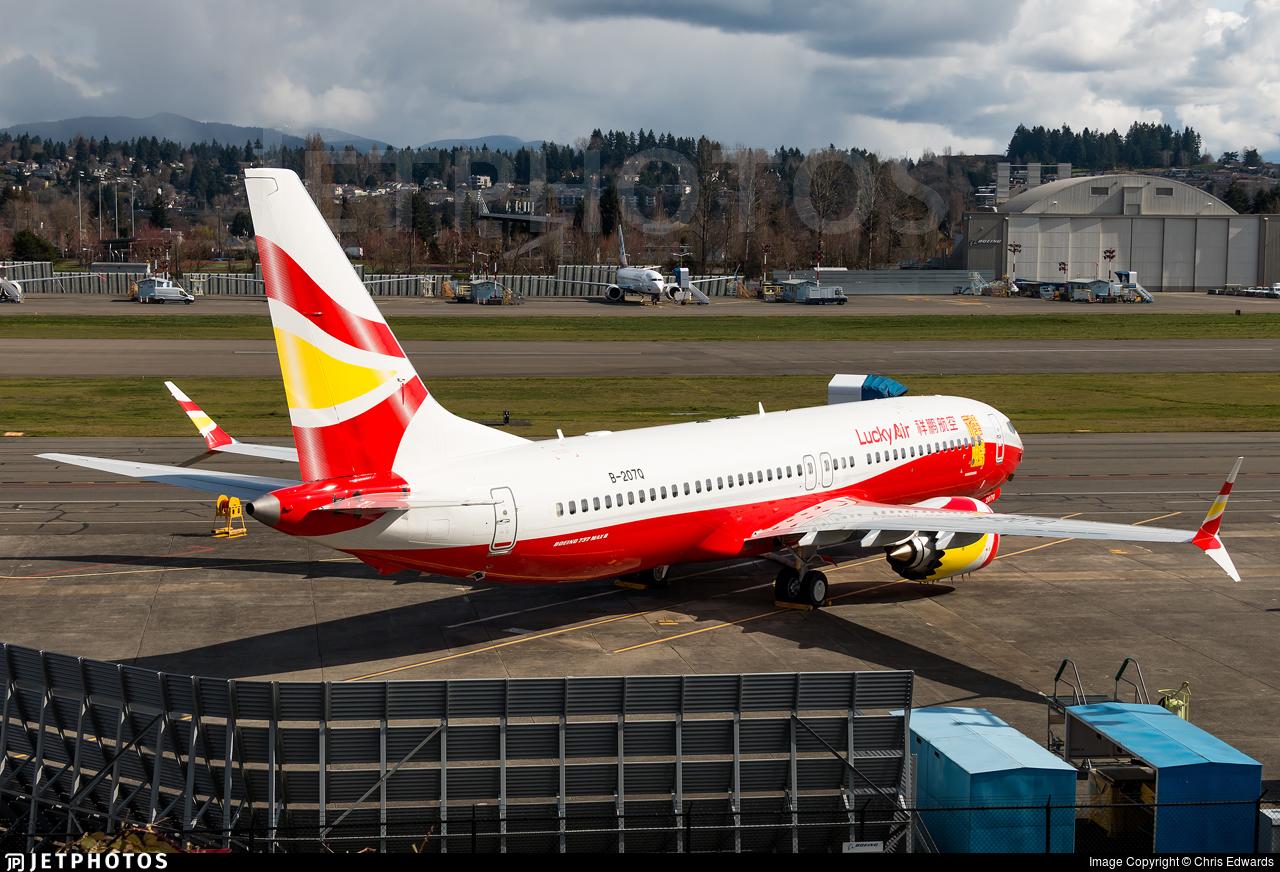 B-207Q - Boeing 737-8 MAX - Lucky Air