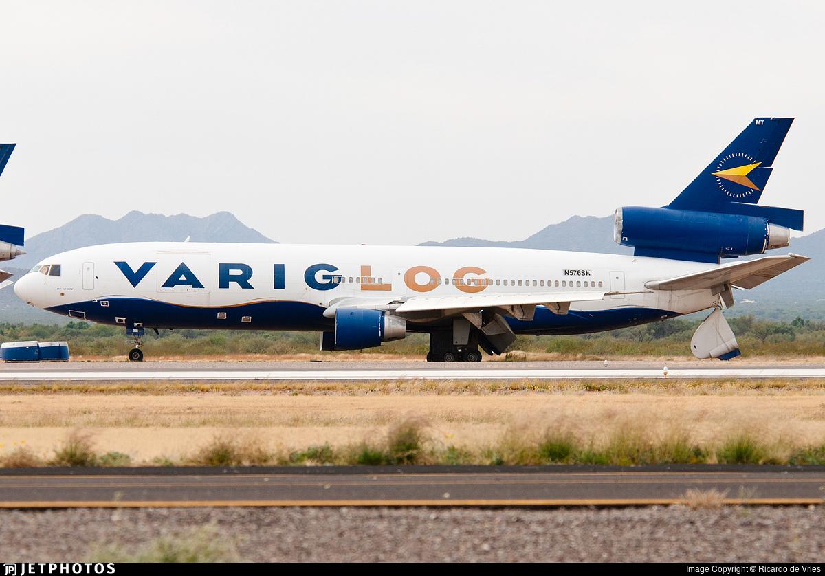 N576SH - McDonnell Douglas DC-10-30(F) - Varig Log