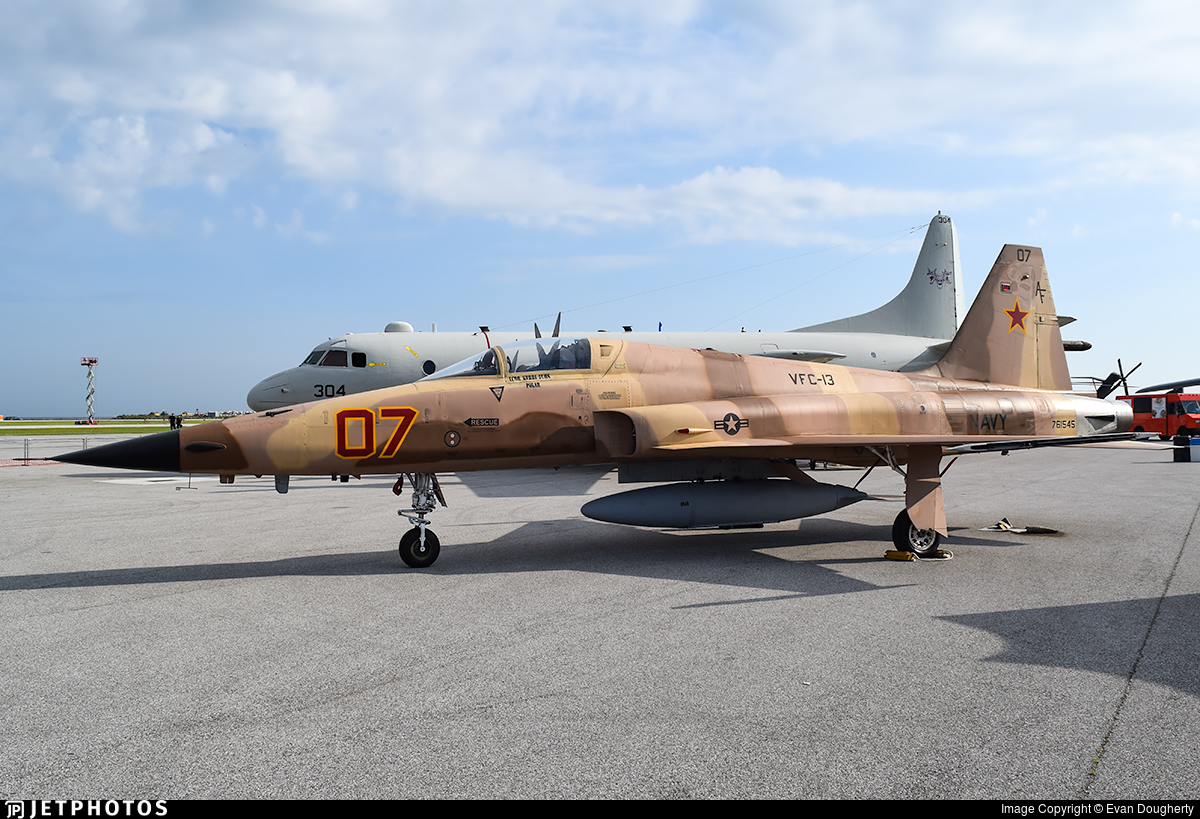 761545 - Northrop F-5N Tiger II - United States - US Navy (USN)