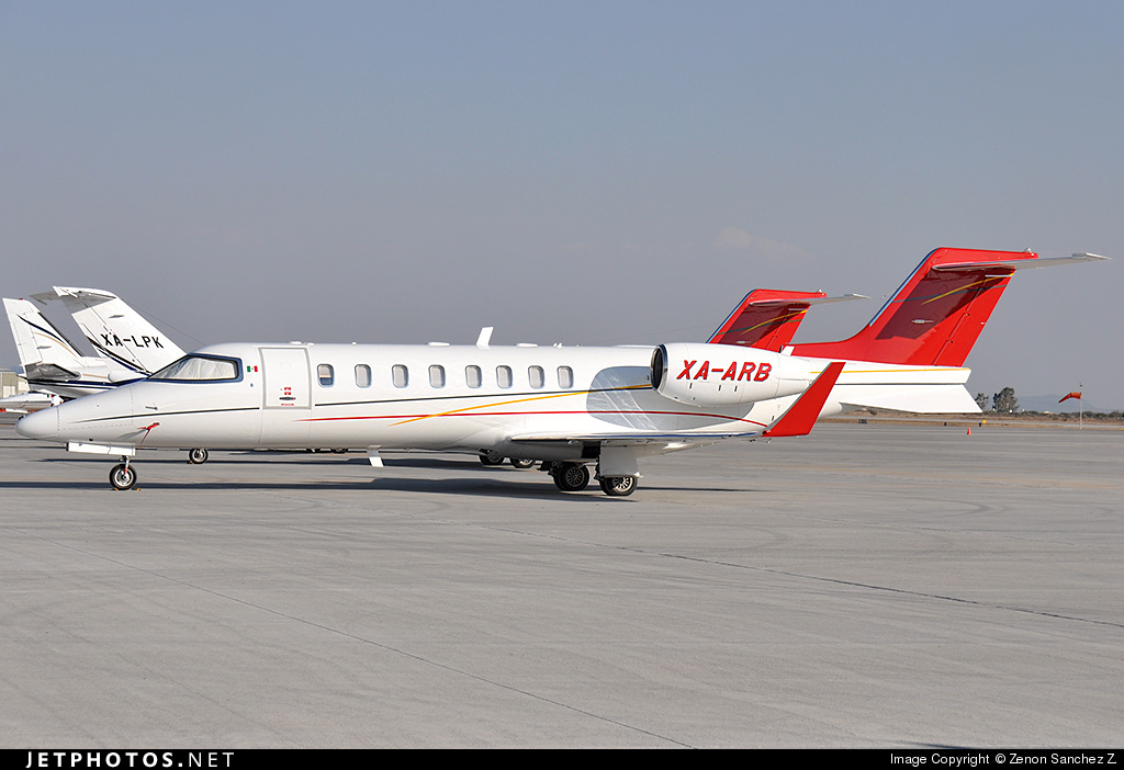 XA-ARB - Bombardier Learjet 45 - Private