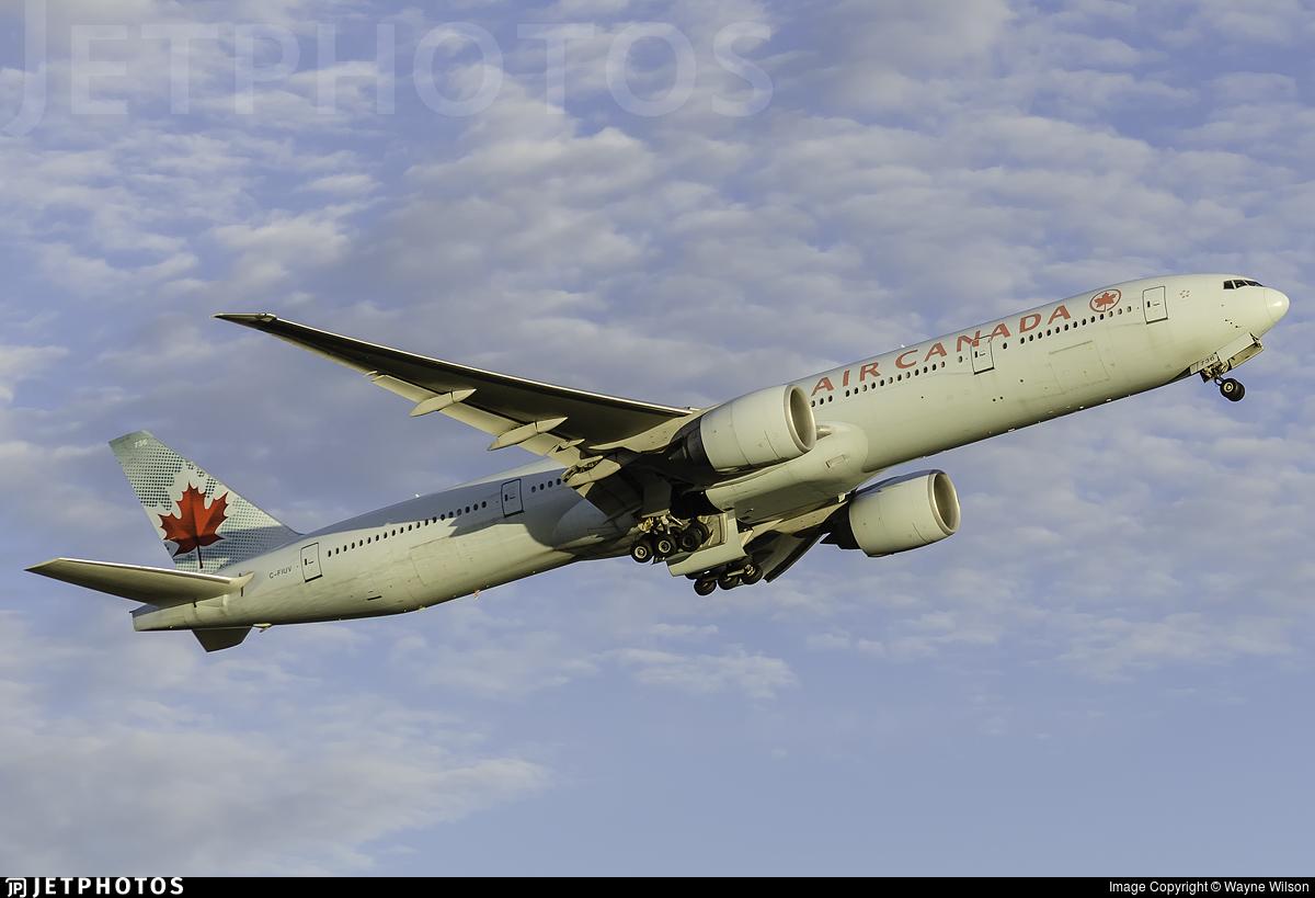 C-FIUV - Boeing 777-333ER - Air Canada