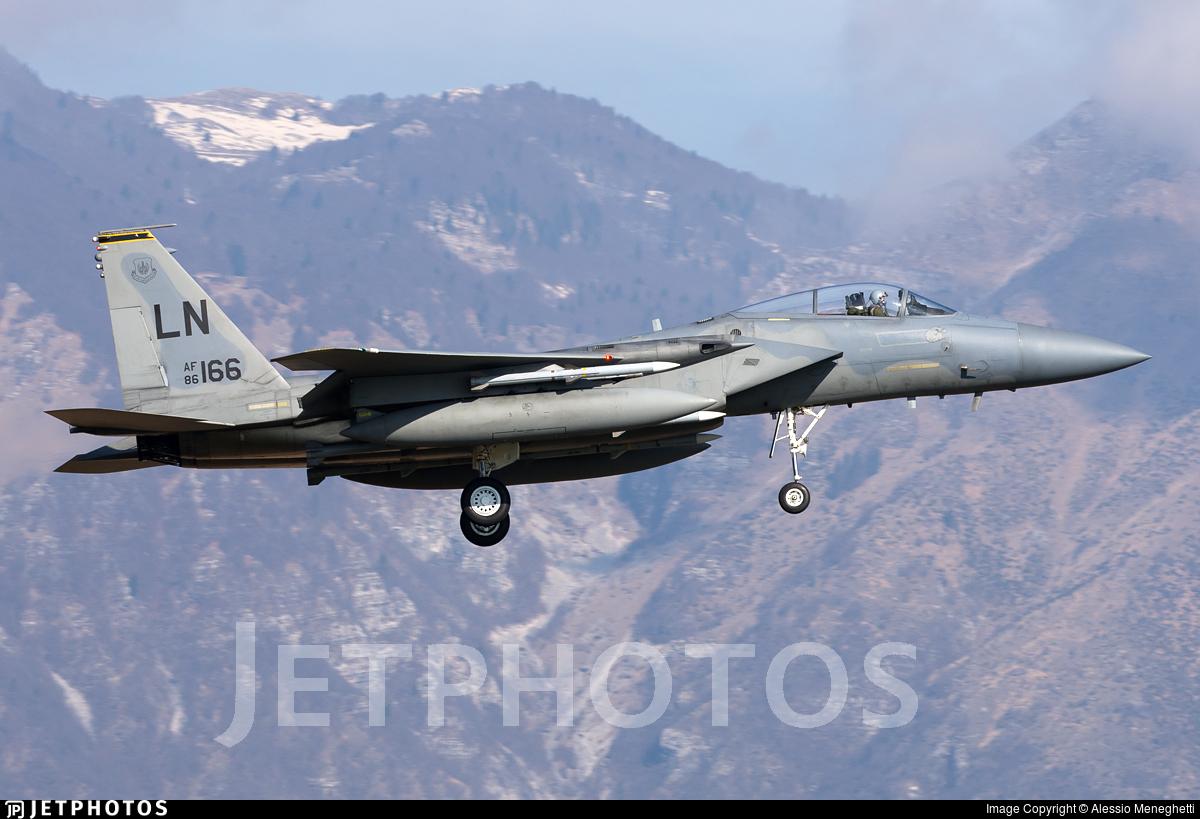 86-0166 - McDonnell Douglas F-15C Eagle - United States - US Air Force (USAF)