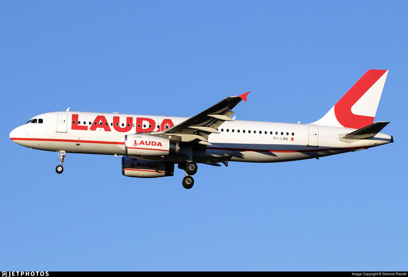 9H-LMB - Airbus A320-232 - Lauda Europe